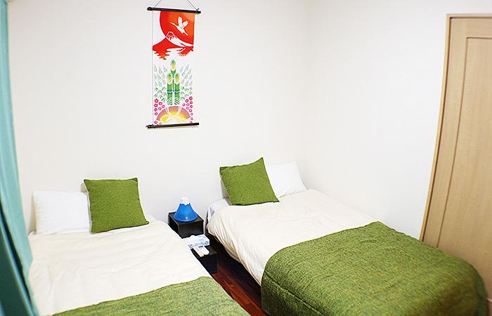Bamboo寝室 宿泊名護市